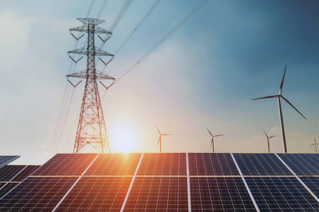 energia magazynowana w sieci energetycznej z paneli fotowoltaicznych
