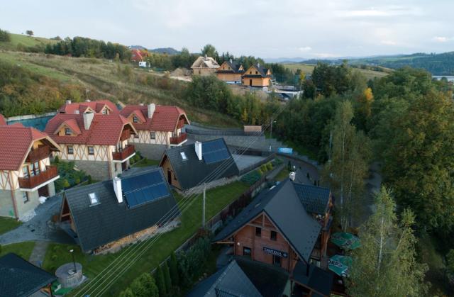 Fotowoltaika na Dolnym Śląsku instalacje fotowoltaiczne na domkach