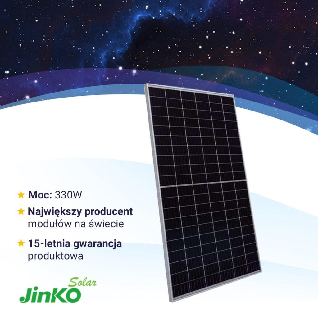 Moduły fotowoltaiczne - Jinko Solar