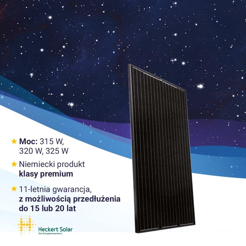 Moduł fotowoltaiczny - Heckert Solar