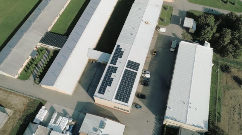 fotowoltaika na dachu firmy